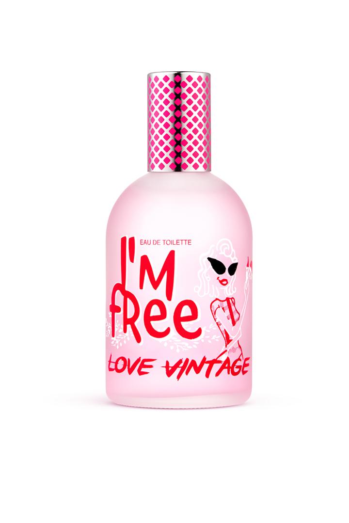 Eau de Toilette romantique Love Vintage 110ml