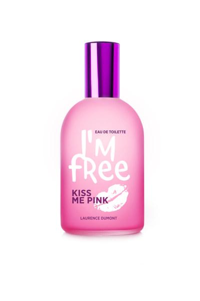 """Eau de Toilette </br>""""Kiss me Pink"""" 110ml"""