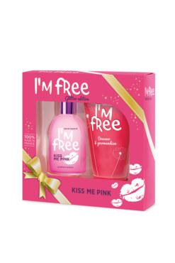 Eau de Toilette Kiss me Pink + gel douche